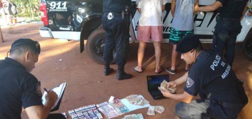 En Oberá, cae un dúo acusado de haber robado la recaudación de una agencia de quinielas