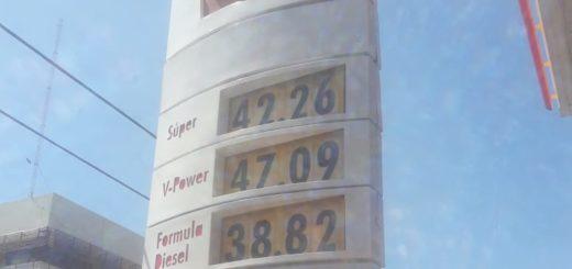 Shell también bajó los precios en naftas pero hubo incremento en el gasoil