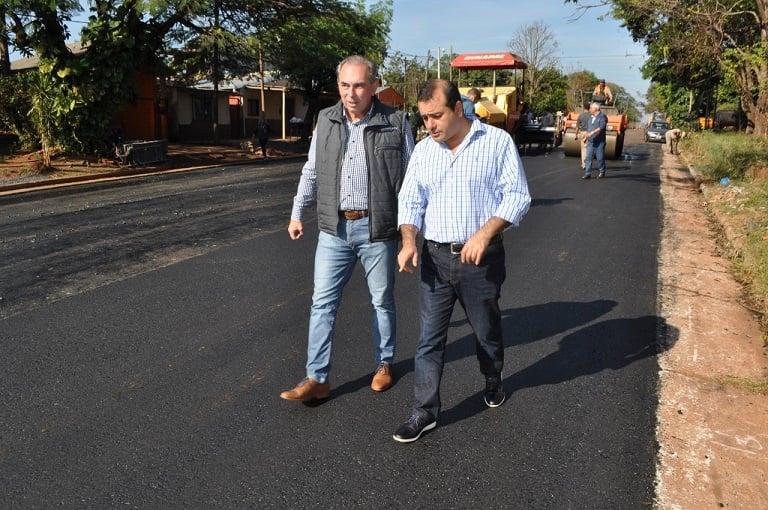 Stelatto aseguró que en 2019 Vialidad provincial llegará a los 200 puentes reparados a nuevo y milcuadras pavimentadas sobre empedrados