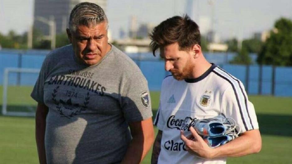 """Claudio Tapia habló de la vuelta de Messi: """"Es tan grande el amor que siente por la Selección que cuando lo convoquen va a estar"""""""