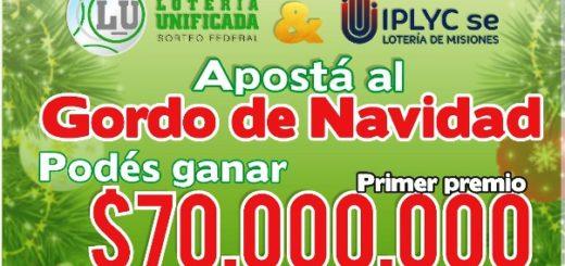 Con fabulosos premios, están a la venta los cupones de la Lotería Unificada