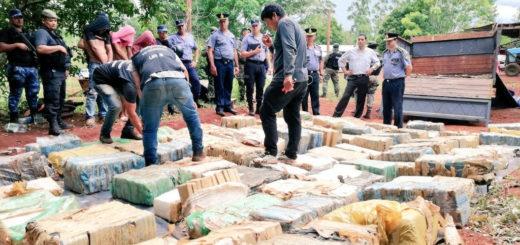 Nuevo golpe al narcocrimen: La Policía de Misiones secuestró casi dostoneladas de marihuana en Eldorado
