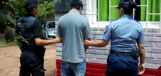 Apresan a un hombre que atacó a su mujer con un caño de hierro en Iguazú
