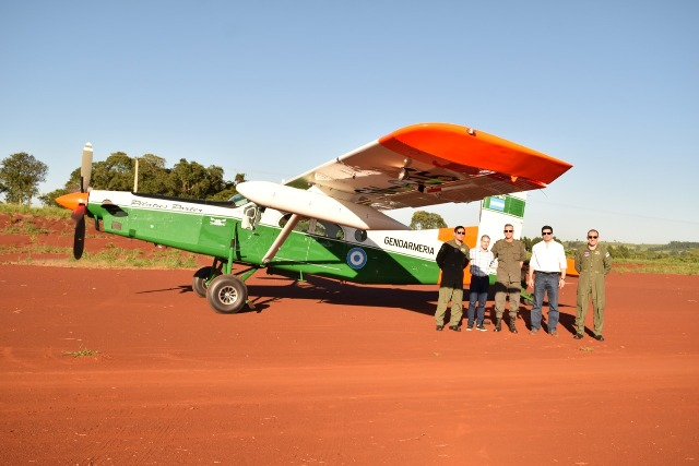 Ecología y Gendarmería realizaron fiscalización aérea de la selva misionera