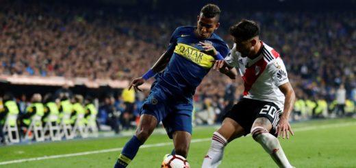 #SuperFinalLibertadores: En el arranque del alargue, Boca se quedó con 10 jugadores