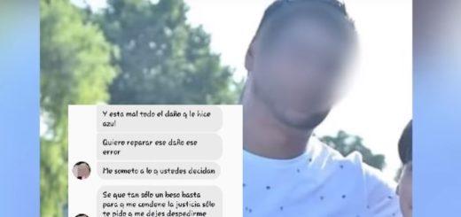 """La excusa de un hombre acusado de abusar de su hija de 10 años: """"Fue solo un beso"""""""