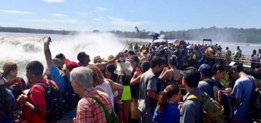 Turismo: la primera quincena en Cataratas, mejor que en 2018