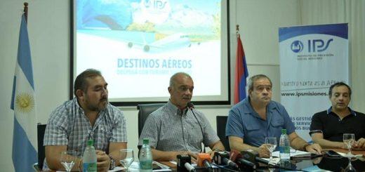 Turismo Social IPS presentó paquetes turísticos aéreos para la temporada Invierno 2019
