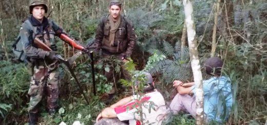 Gendarmería y personal de Ecología detuvieron a dos personas armadas en el Parque Provincial Uruguaí