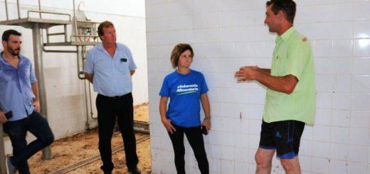 Miembros de Agricultura Familiar se reunieron con productores de Colonia Aurora
