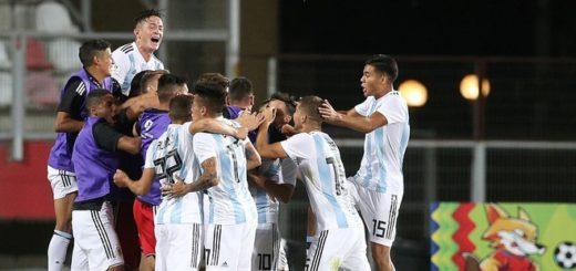 Sudamericano Sub 20: Argentina se quedó con el clásico contra Uruguay y se ilusiona con la clasificación