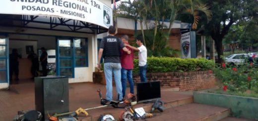 Tras un golpe boquetero en Posadas detienen a un sospechoso y recuperan lo robado