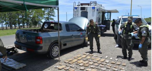 Entre Ríos: simulaba un viaje de trabajo y traficaba 92 kilos de marihuana
