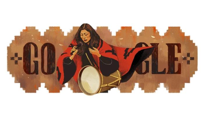 Google homenajea a Mercedes Sosa por el aniversario de su primera actuación en Cosquín