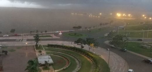 Ahora: seguí en vivo la tormenta en Posadas