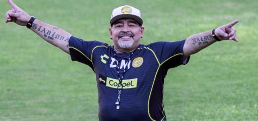 """""""Peleala como la peleé yo"""": el mensaje de Diego Maradona a Rodrigo Mora por su retiro"""