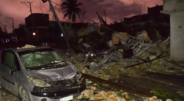 Cuba: un tornado dejó al menos tres muertos, 174 heridos y destrozos