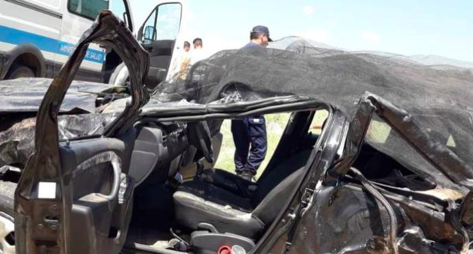 Dos mujeres sanjuaninas murieron en un brutal vuelco en San Luis
