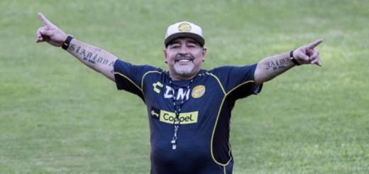 Alfaro invitó a Diego Maradona a un entrenamiento de Boca
