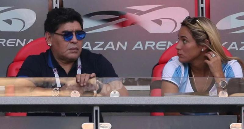 Rocío Oliva dijo cual fue el insólito motivo que desencadenó en la separación con Diego Maradona