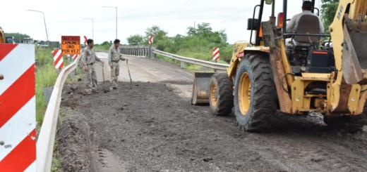 Corrientes: el Gobierno Nacional comenzó a construir el nuevo puente sobre el Arroyo Iribú Cuá