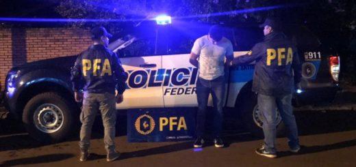 Atraparon a un presunto vendedor de cocaína en pleno centro de Eldorado