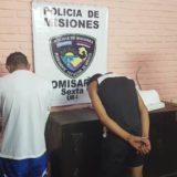 Detuvieron en Santa Ana a una familia acusada de sustraer 90 mil pesos de un local de encomiendas de Iguazú