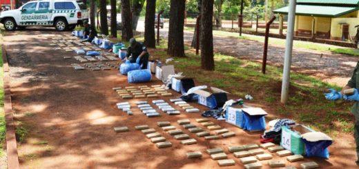 Nuevo golpe al narcotráfico en Misiones: secuestraron marihuana por más de 20 millones de pesos en Puerto Iguazú