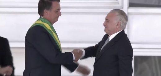 """Con expectativas en la región, asumió Jair Bolsonaro la presidencia de Brasil para """"combatir la corrupción, erradicar la criminalidad, y recuperar la economía"""""""