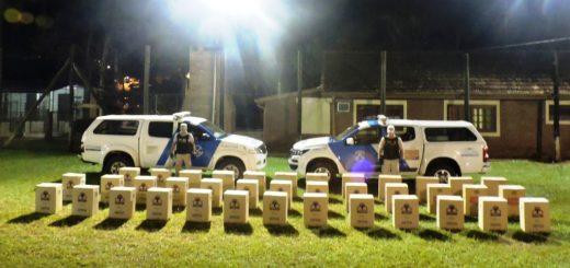 Prefectura incautó cigarrillos de contrabando valuados en más de un millón de pesos