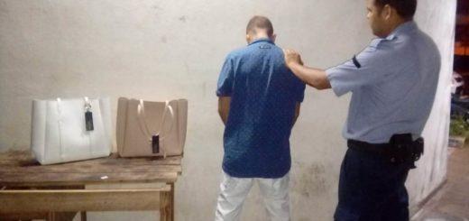Dos ladrones terminaron presos en distintos operativos policiales