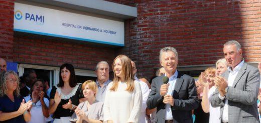 """Macri recorrió el hospital Bernardo Houssay: """"Ocuparse de nuestros abuelos es una prioridad y una obligación"""""""