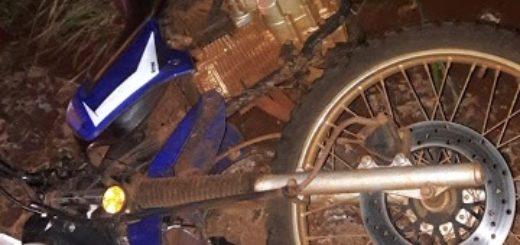 Cuatro heridos, tres de ellos graves, dejó un choque frontal entre dos motos en El Soberbio
