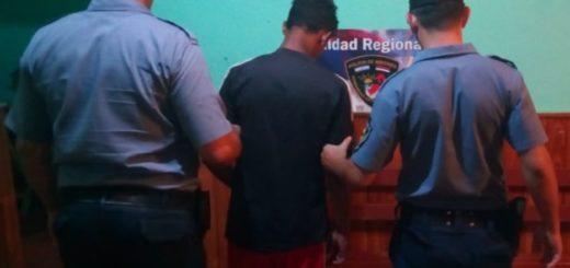 Villa Bonita: detuvieron a un joven por amenazar con un cuchillo y un revólver a un vecino