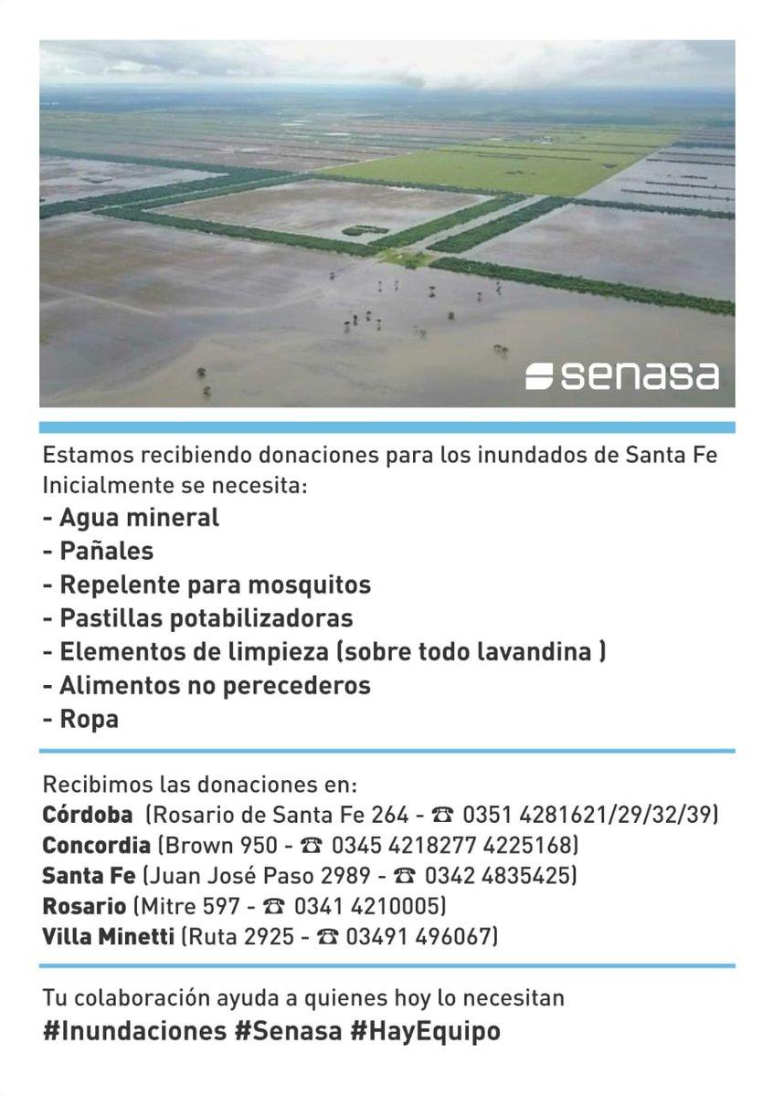 Ejército Argentino y redes solidarias se movilizan por las inundaciones del Litoral: recolectan donaciones para asistir a poblaciones afectadas