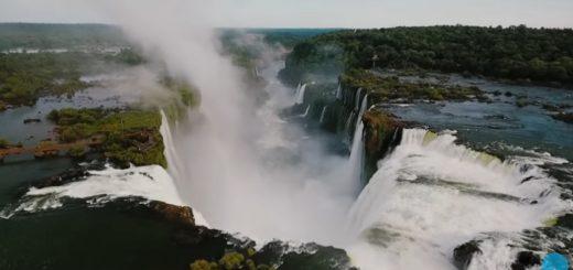 """Campaña promocional invita a turistas españoles a """"empaparse de energía"""" en las Cataratas del Iguazú"""
