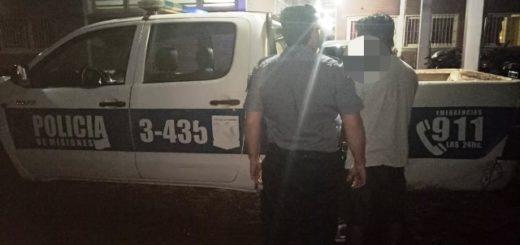 Detuvieron a un hombre en Posadas por golpear a su pareja