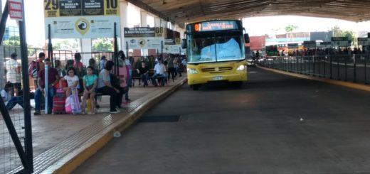 Transporte Urbano en Posadas: la Estación de la avenida Quaranta funciona con total normalidad