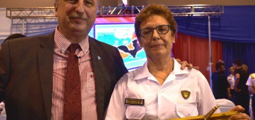 """""""Existió siempre la vocación de servicio en mí"""", expresó la primera mujer que ascendió a comisaria general en Misiones"""