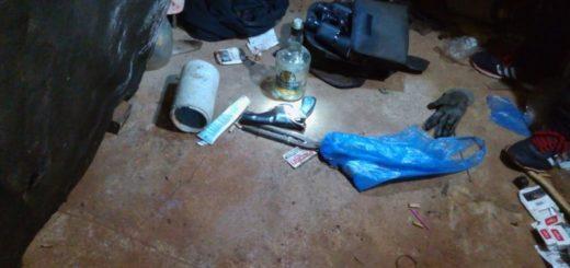 Eldorado: tras persecusión detuvieron a cuatro sospechosos por el robo a un mecánico y en allanamiento incautaron armas