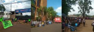 Jornada de cortes y manifestaciones en varios puntos del sur provincial en reclamo ante la suba del boleto urbano
