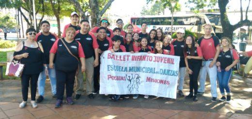 El Ballet Infanto Juvenil de la Escuela de Danzas viajó a Cosquín para presentarse en el Festival Nacional de Folklore