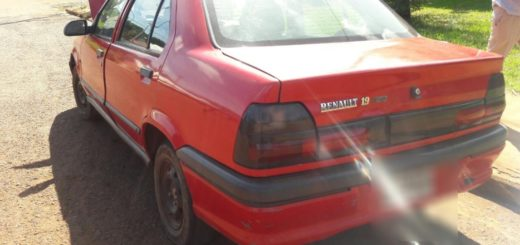San Pedro: secuestraron un automóvil adulterado