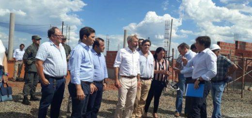 Frigerio recorre obras en Posadas junto al vicegobernador Oscar Herrera Ahuad