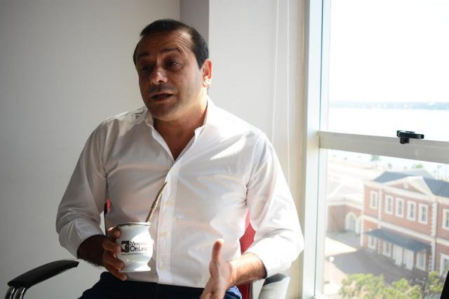 """El vicegobernador Oscar Herrera Ahuad consideró """"acertada"""" la decisión de poner al INMET bajo la órbita del Instituto Malbrán"""