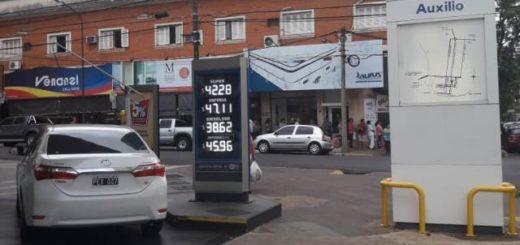 En Posadas YPF aún no bajó el precio del combustible