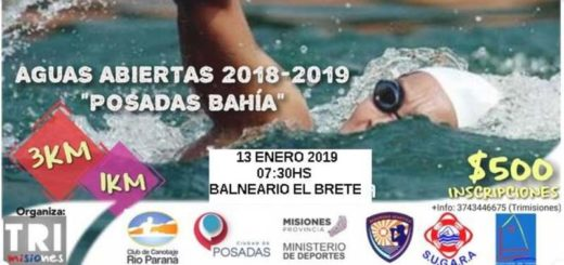 Ramón Ignacio Salazar se quedó con el premio mayor en la competencia de aguas abiertas en Posadas