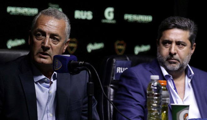 """En su presentación, Gustavo Alfaro sentenció: """"Boca no tiene purgatorio, es cielo o infierno"""""""