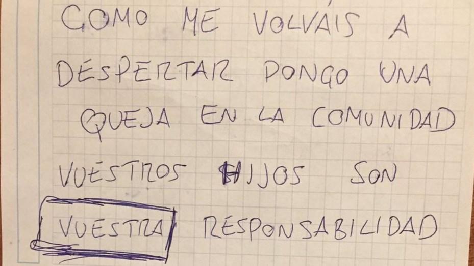 La respuesta de un padre a las quejas de sus vecinos porque su bebé llora de noche que se hizo viral en Twitter