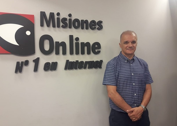 """Carlos Arce presidente del IPS en Misiones Online,  """"vemos al afiliado como una persona biopsicosocial"""""""